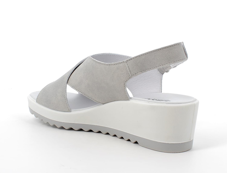 Igi&Co Grey Wedge Sandal