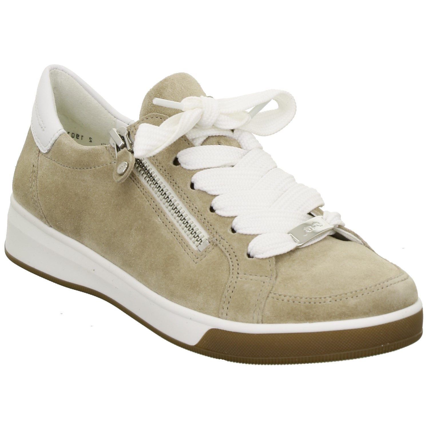 Ara Brown Suede Trainer