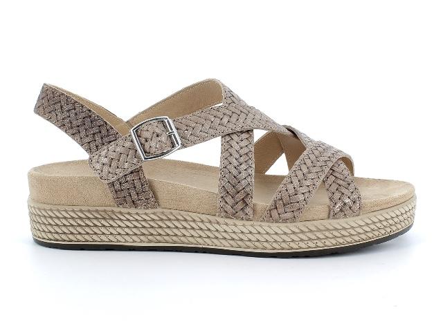 Igi&Co Bronze Woven Sandal
