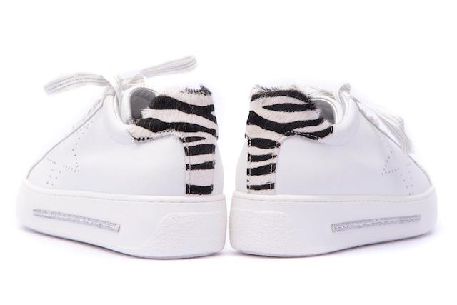 Alpe White/Zebra Trainer