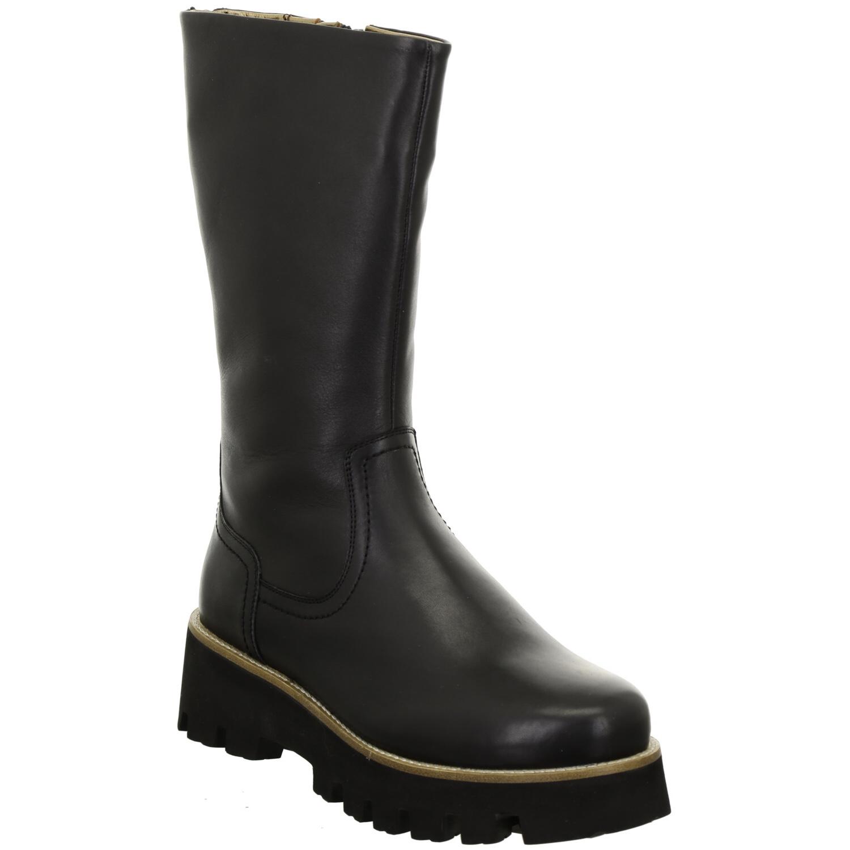 Ara Black Long Boot