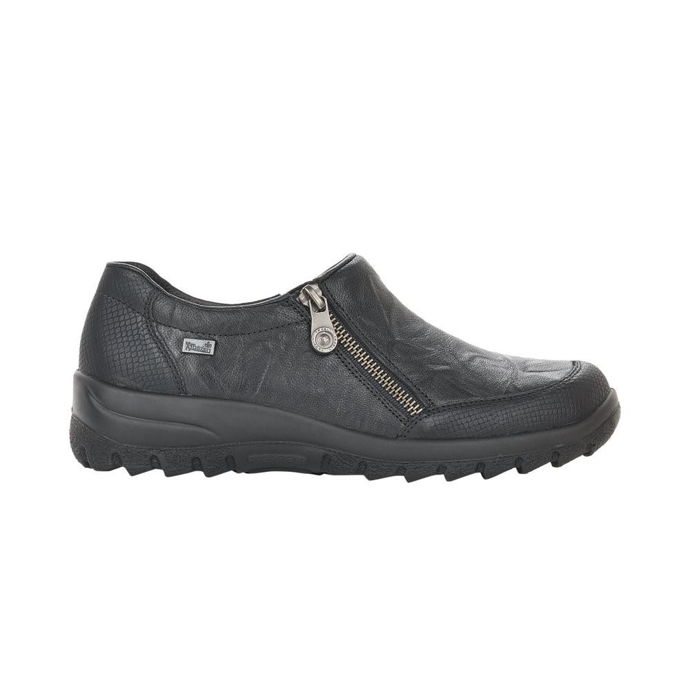 Rieker Single Zip Shoe