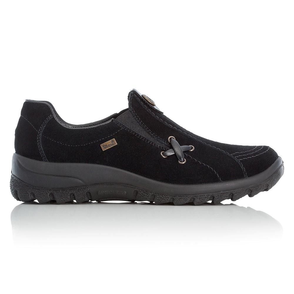 Rieker Slip-On Suede Shoe
