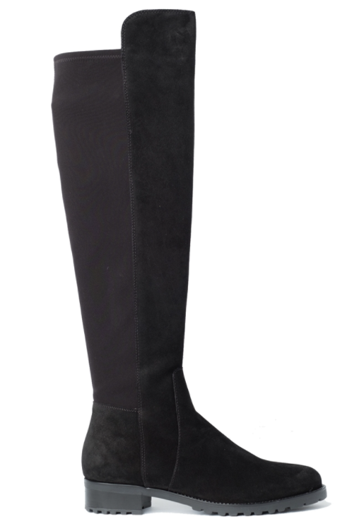 Suede High Knee Boots