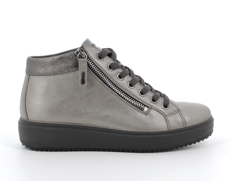 Igi&Co Silver High-Top Boot