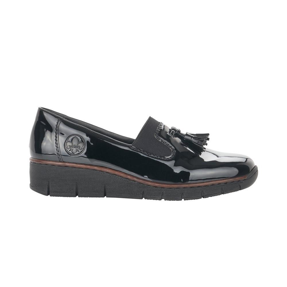 Rieker Black Loafer